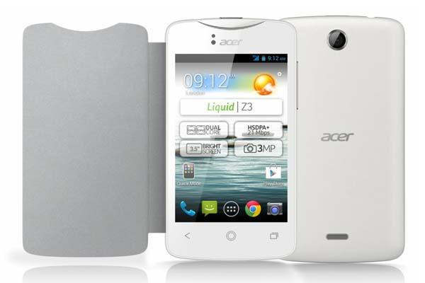 Acer Liquid Z3 Android Phone Announced