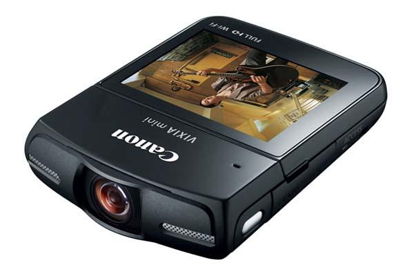 Canon VIXIA Mini Compact Personal Camcorder Announced