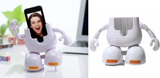 Dancing Face Stand Music Robot for iPhone