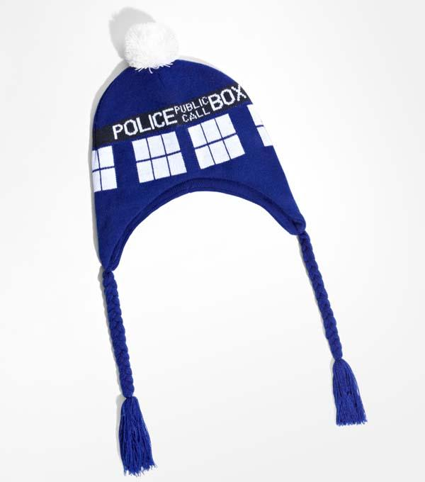 Doctor Who TARDIS Knitted Hat