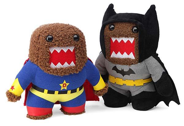 Domo as DC Comics Superhero Plush Toys