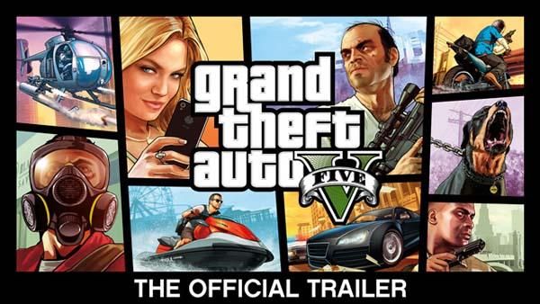 Grant Theft Auto V Official Game Trailer Unveiled