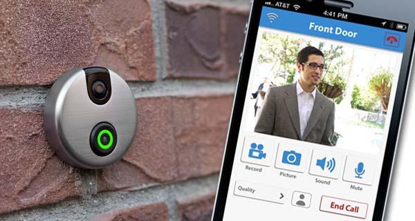 iDoorCam WiFi Enabled Doorbell