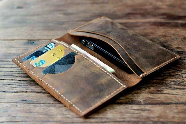 JooJoobs Handmade iPhone 5 Leather Wallet