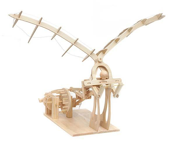 Leonardo Da Vinci Wood Invention Kits
