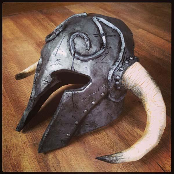Make Your Own Skyrim Ancient Nord Helmet