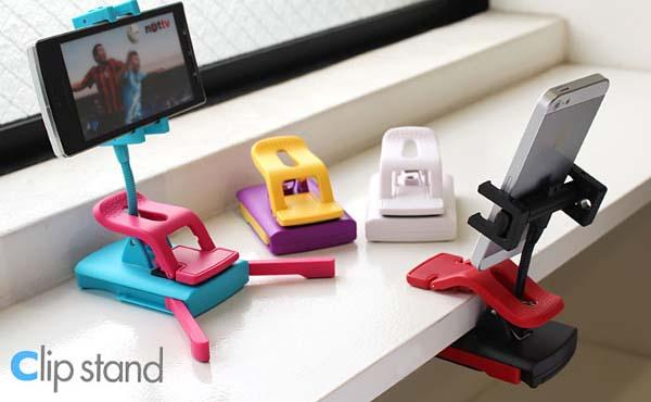 New Fashion 2-Way Clip Phone Stand