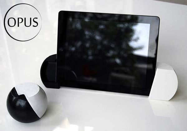 Opus Universal Stand and Sound Amplifier for iOS Devices