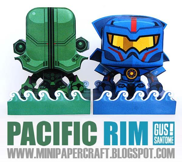 Pacific Rim Themed Paper Crafts
