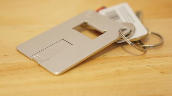 S Memory USB Drive with Bottle Opener