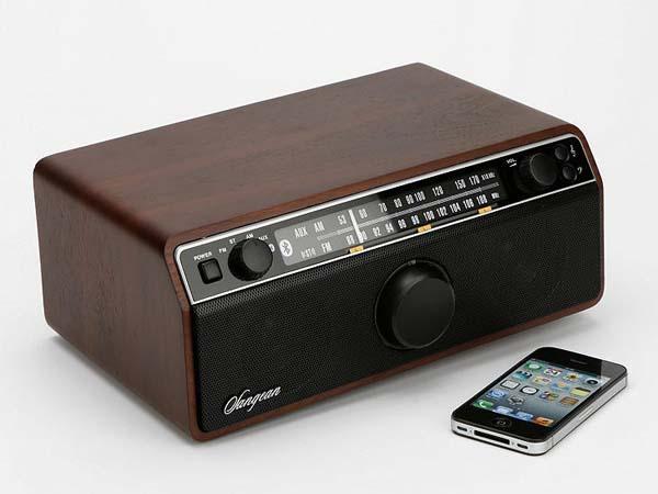 Sangean WR-12BT Vintage Bluetooth Wireless Speaker