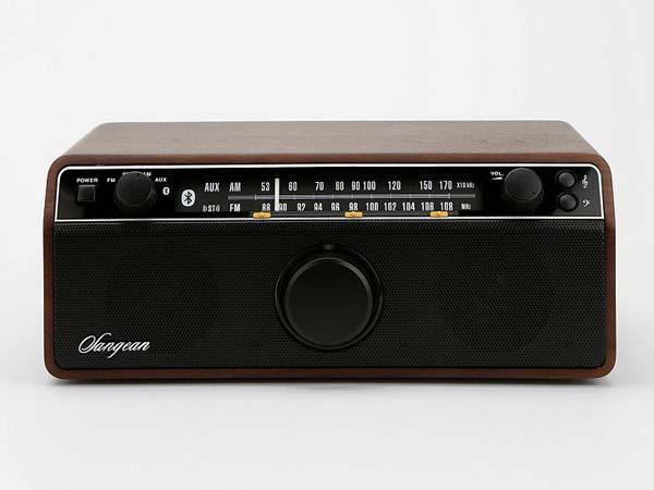 Sangean WR-12BT Vintage Bluetooth Wireless Speaker