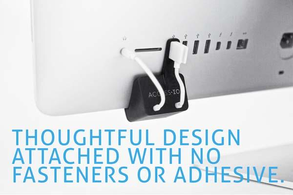 Snowmous AccessIO for Easy Access to iMac's USB Port and Headphone Jack