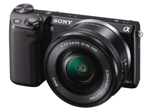 Sony Alpha NEX-5T Mirrorless Camera with WiFi & NFC Announced
