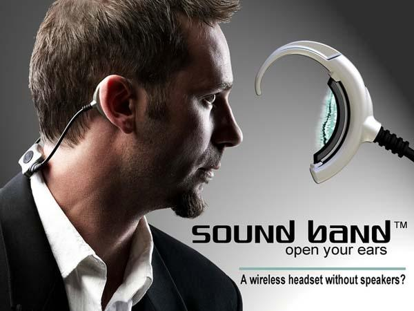 Sound Band Wireless Headset without Speakers