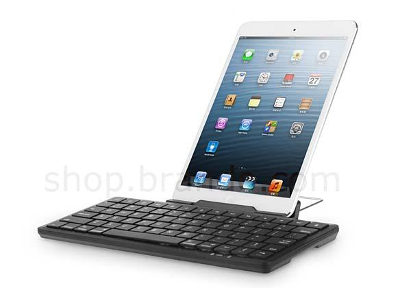 The Bluetooth Wireless Keyboard with Adjustable Stand