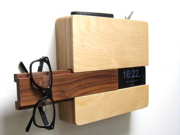The Bulter Wall Organizer and Charging Dock