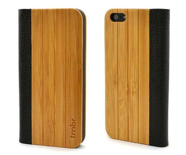 The Handmade Bamboo Wood iPhone 5 Case