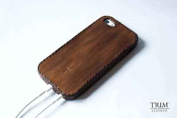The Handmade Leather Bumper iPhone 5 Case