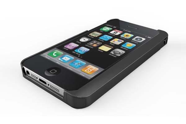 The iPhone 5 Case with Built-in Stylus and Foldable Stand
