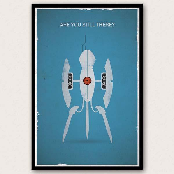 The Portal Inspired Poster Set