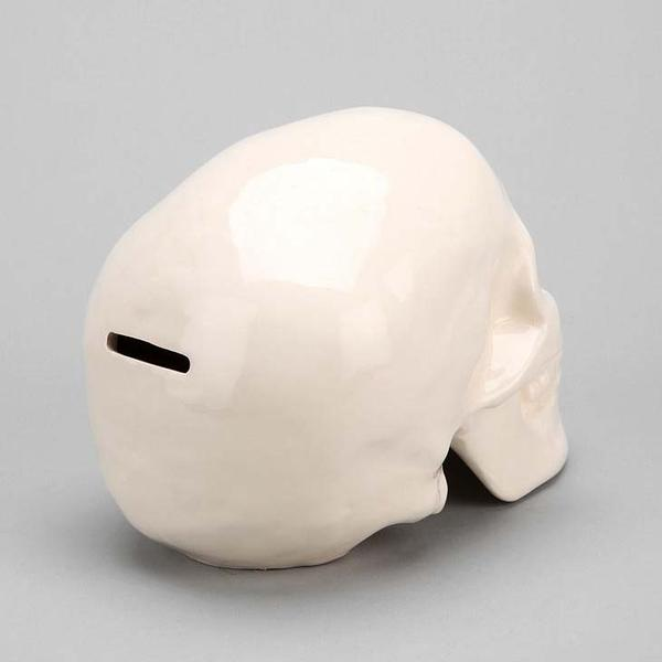 The Skull Shaped Money Bank