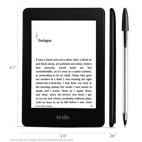 Amazon All-New Kindle Paperwhite eReader Announced