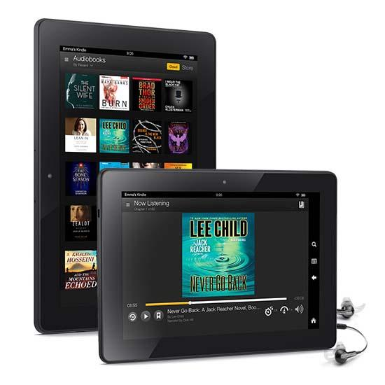 Amazon Kindle Fire HDX 7 & 8.9 Android Tablets with MayDay Button