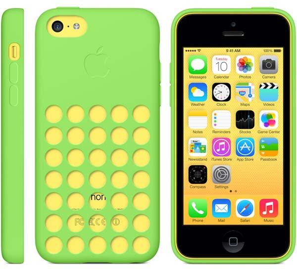 Apple Official iPhone 5c Case Announced