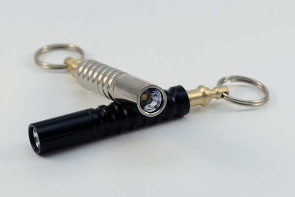 Beta-QR the World's First Quick-Release Keychain Flashlight