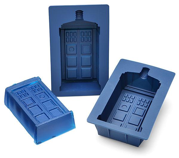 Doctor Who TARDIS Silicone Mold Set