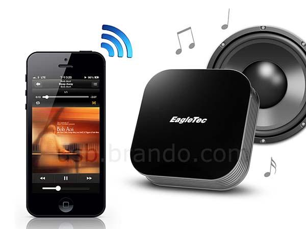 EagleTec Bluetooth Audio Receiver with NFC