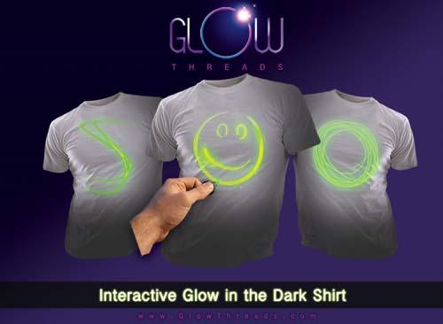 Glow Threads Fully Interactive Glowing T-Shirt