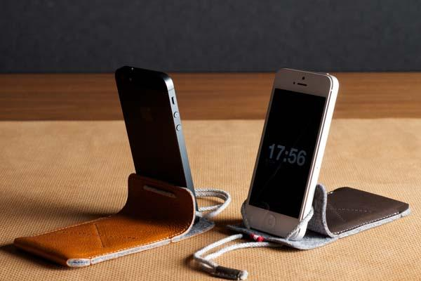 Hard Graft Draw Leather Sleeve for iPhone 5s/5c/5