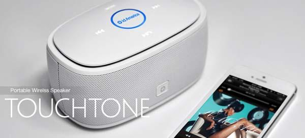 id Ameica TouchTone Portable Bluetooth Speaker
