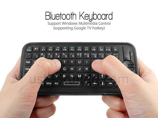 iPazzPort Bluetooth Mini Keyboard with Air Mouse