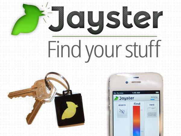 Jayster Keychain and Wireless Tracker with Bluetooth Technlogy