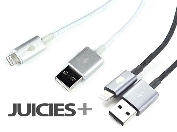 JUICES+ Sync & Charging Cables for iPhones, Android Phones and more
