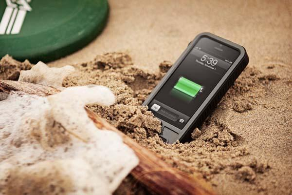 iBattz Mojo Refuel Aqua Battery Case for iPhone 5s/5