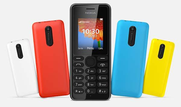 Nokia 108 and 108 Dual SIM Feature Phones Announced