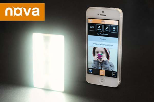 Nova Wireless LED Flash for iPhone