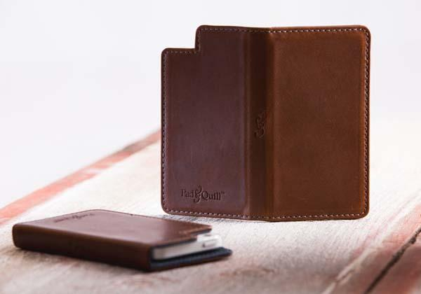 Pad&Quill Bella Fino Leather Case for iPhone 5s/5/5c