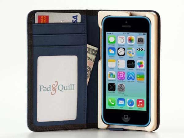 Pad&Quill Little Pocket Book iPhone 5c Case