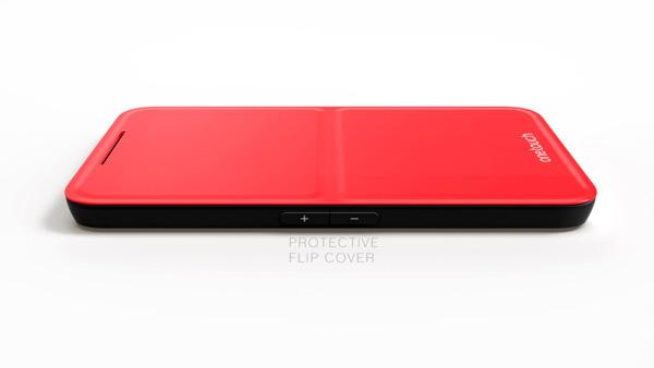 Plumage Concept Windows Phone with Keyboard Cover