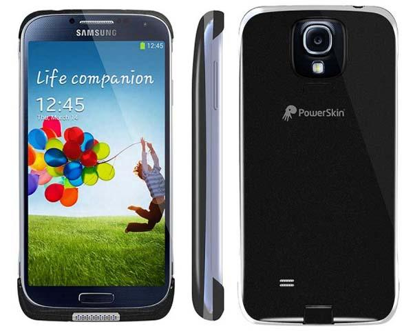 PowerSkin Spare Battery Case for Samsung Galaxy S4