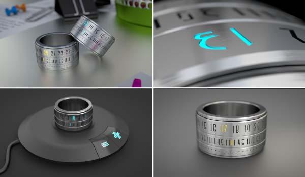 Ring Clock A Time Piece on Your Finger