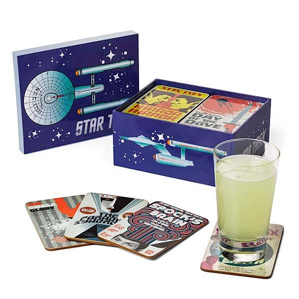Star Trek Classic Art Coaster Set