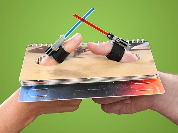 Star Wars Lightsaber Thumb Wrestling Game