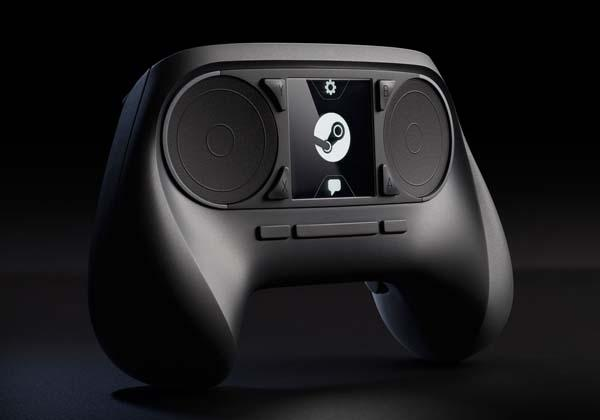 Steam Dual-Trackpad Game Controller
