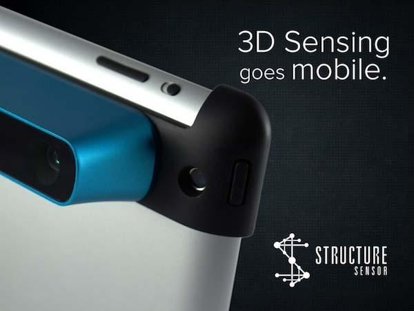 Structure Sensor Turns iPad into 3D Scanner